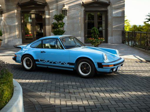 1975 Gulf Blue Porsche 2.7 Carrera
