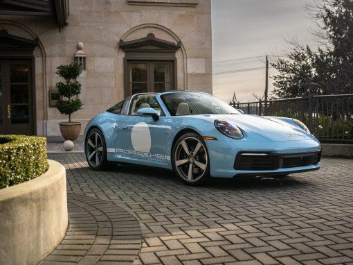 2021 Porsche 911 Targa 4S Heritage Edition